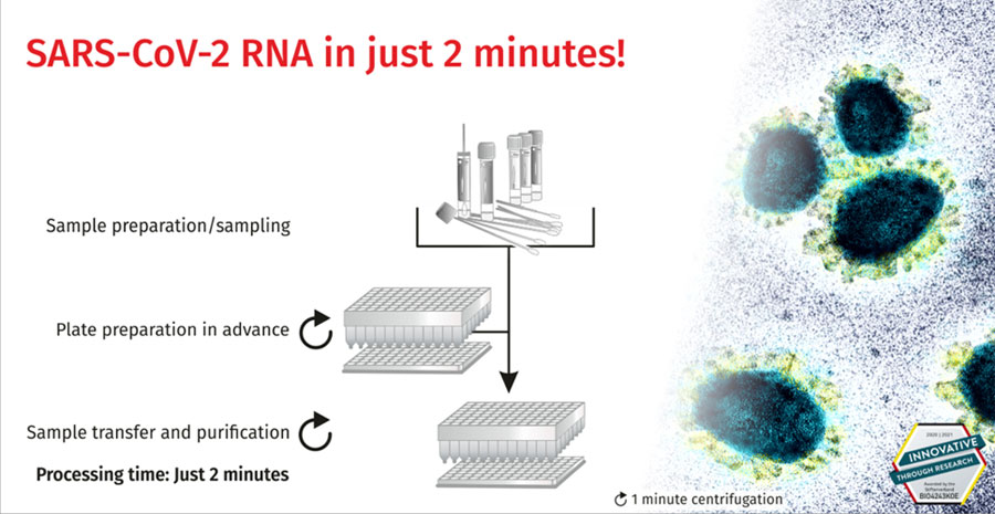 EchoLUTION Viral RNA/DNA Swab 96 Kit Plus