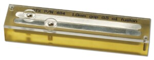 The Flat Electrode can be used for both electroporation and electro cell fusion.