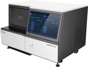 DNBSEQ-G400 NGS Genetic Sequencer: Versatility to satisfy multiple needs. Supports a range of read lengths, including SE50, SE100, SE400, PE100, PE150, PE200