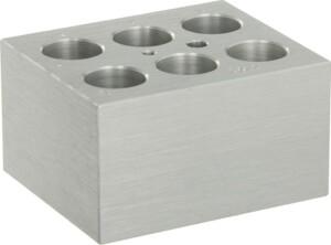 Block 6 x 20mm tubes